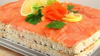 Суши Торт Филадельфия * Очень Просто и Вкусно!