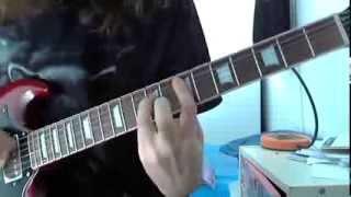 Kvelertak - Bruane brenn (guitar cover)