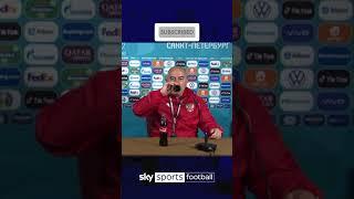 Russia coach mocks Ronaldo by chugging the Euro sponsor Coke! 🤣🥤