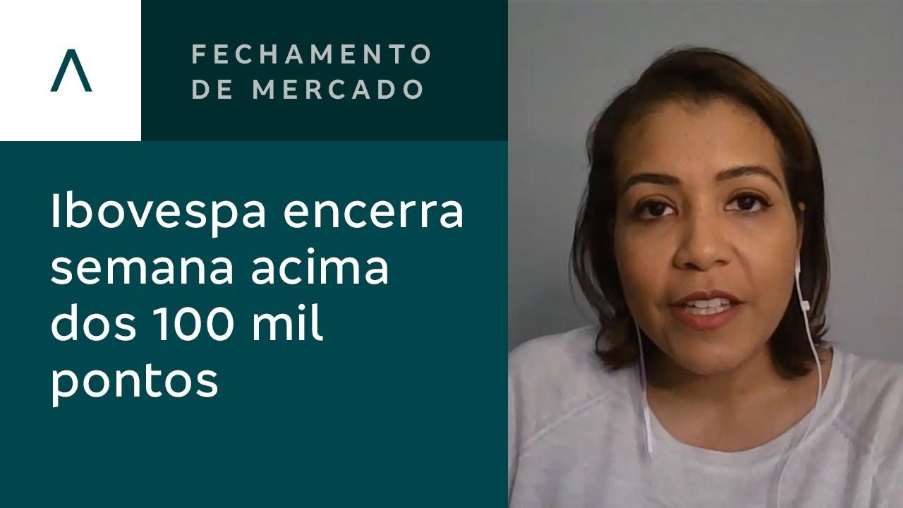 Fechamento de Mercado l Ibovespa encerra semana acima dos 100 mil pontos - 10/07/2020