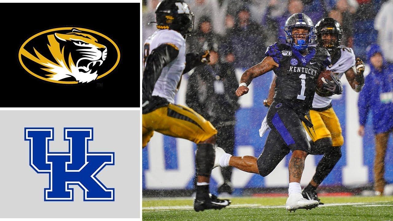Missouri vs Kentucky Week 8 College Football Highlights ...