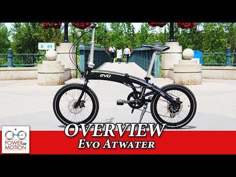 Evo Atwater electric folding bike overview Calgary, Alberta | eBike Calgary | electric bike Calgary