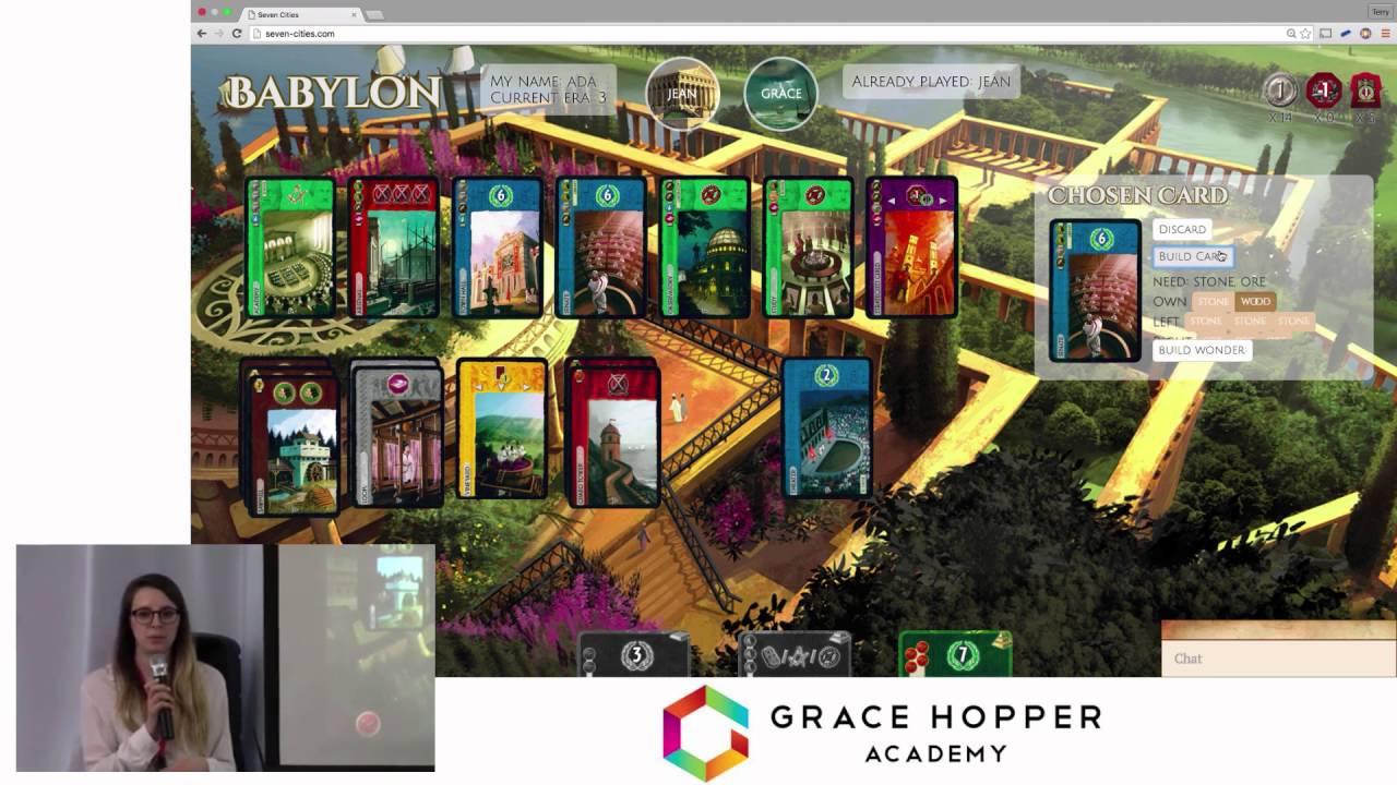 grace hopper academy capstone project seven cities - Grace Hopper Resume Database