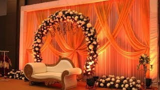 Wedding Reception Stage Decoration || Wedding Stage Ideas 2019