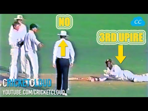 BRIAN LARA kept begging for REVIEW & Why IAN HEALY didn't tell the TRUTH !!