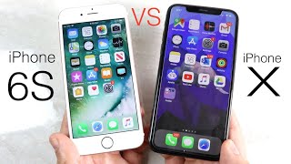 iPhone 6S Vs iPhone X In 2019! (Comparison) (Review)
