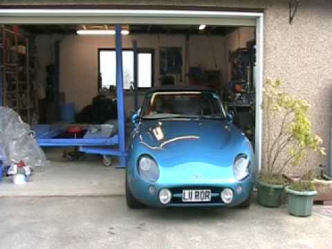 TVR Griffith start up after winter layup
