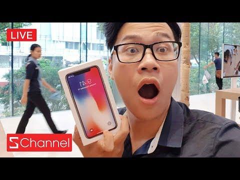 [Trực tiếp] Mua iPhone X đầu tiên tại Apple Store. Cập nhật: Sướng quá nhận máy rồi!!!