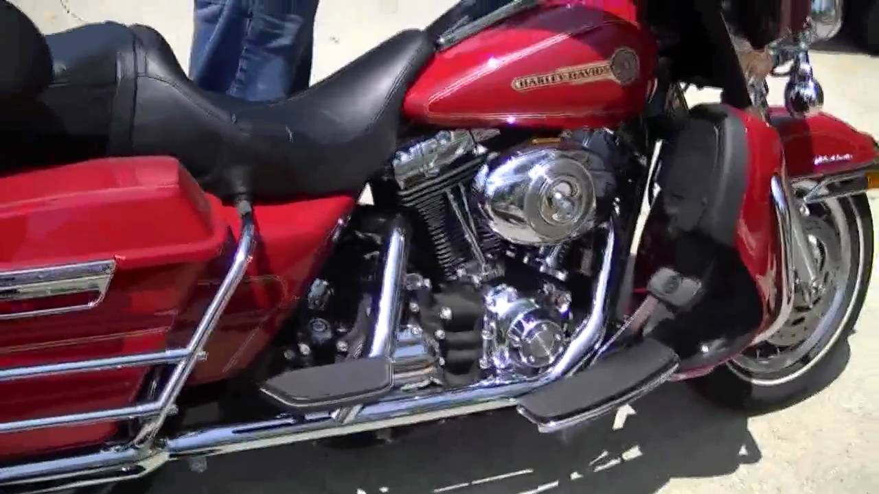 Harley Davidson Firefighter Motorcycle For Sale