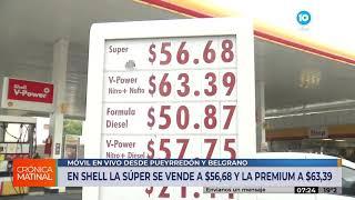 Ya rige en Córdoba el aumento del 5% en los combustibles