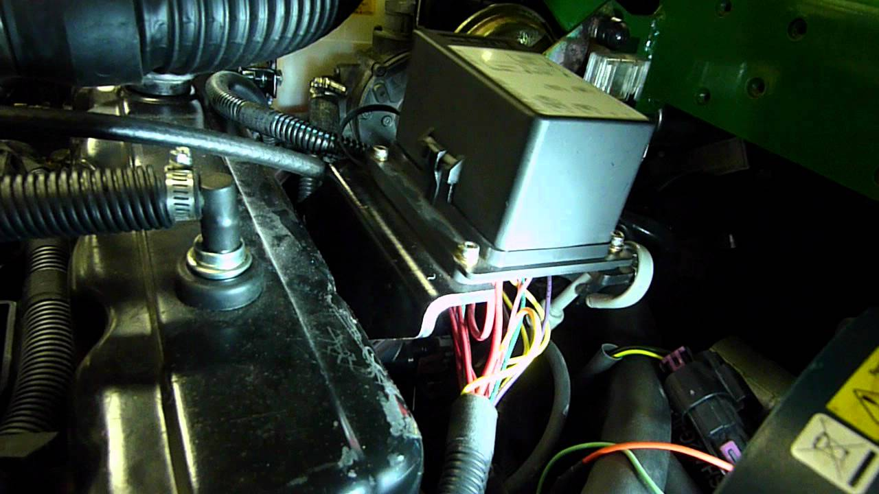 maxresdefault fuse relay box on engine 1400 rpm as built youtube  at bayanpartner.co