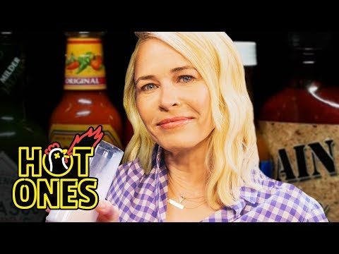 Chelsea Handler Goes Off the Rails While Eating Spicy Wings   Hot Ones