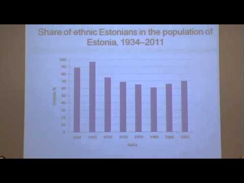 Emigration trends in Estonia