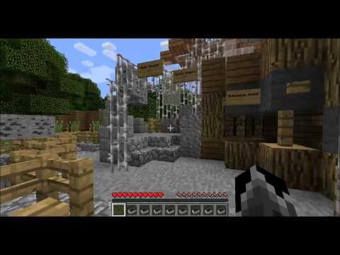 minecraft - theme park fun part 1 - alton towers