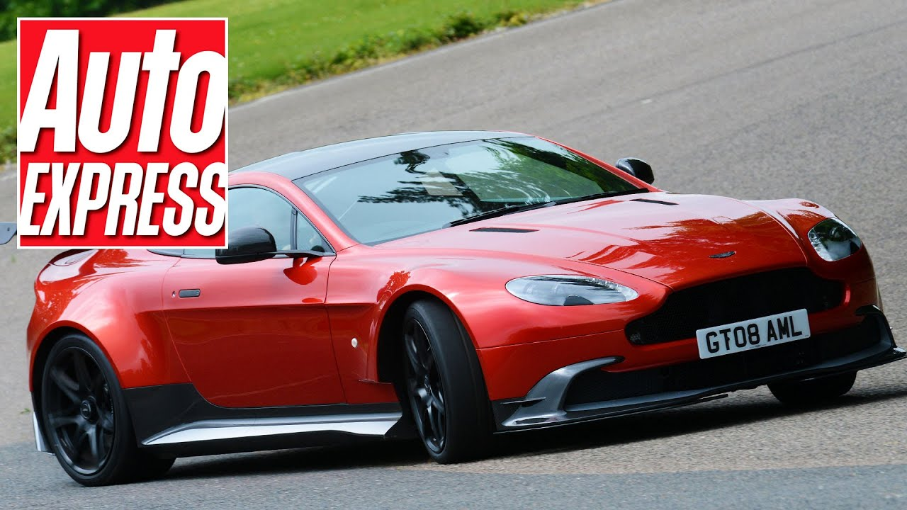 Aston Martin Vantage GT Review The Best Aston To Drive Ever - Aston martin vantage review