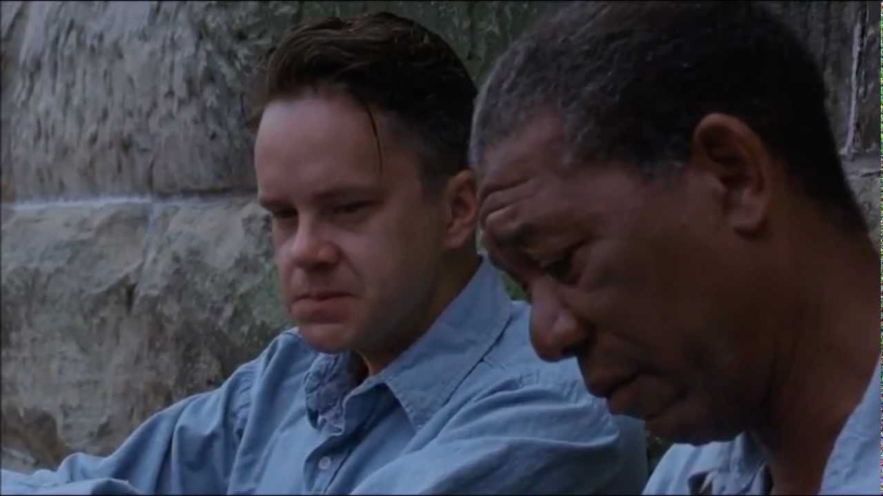 Get Busy Living Or Get Busy Dying The Shawshank Redemption Hd 720p Youtube