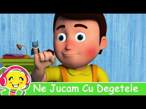 Cantecele pentru copii - 10 Degetele Jucause