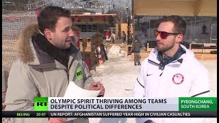 Sport v Politics: Olympic spirit prevails as athletes help each other out