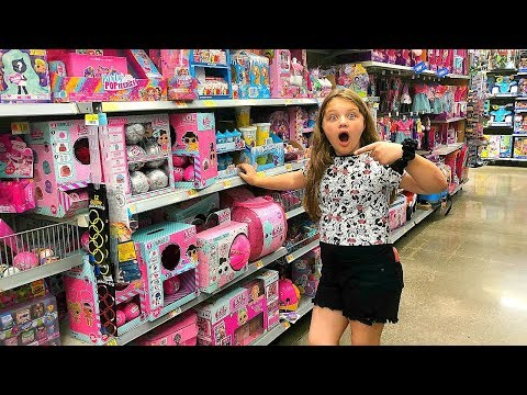 KIDS Toy Shopping SPREE At Walmart NO BUDGET!