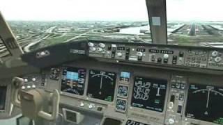 FS2004 JAL Boeing 777-300ER Tokyo to New York 2/2
