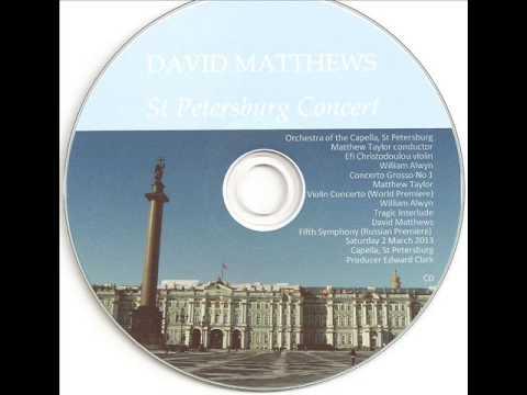Matthew Taylor  Concerto for Violin and Orchestra (2011)   I. Allegro con forza