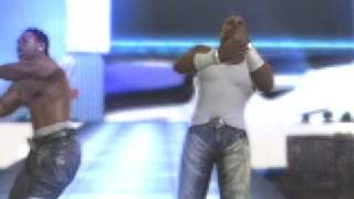 Cryme Tyme 1st Theme Entrance (SmackDown! Vs RAW 2009) (X Box 360)