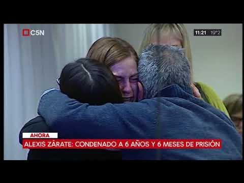 Condenaron a 6 años y 6 meses a Alexis Zárate por abuso sexual