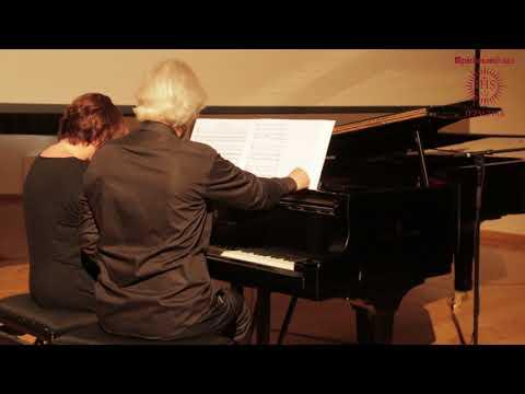 Liszt Ferenc: Via Crucis - Előadja Klukon Edit és Ránki Dezső