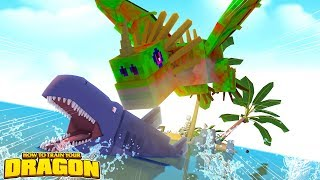 ZOMBIE DEADLY NADDER, SHARKS AND MONSTROUS NIGHTMARE?! - How To Train Your Dragon w/ TinyTurtle