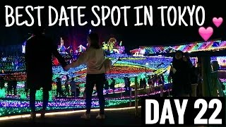 THE BEST WINTER DATE SPOT IN TOKYO | vlogmas day 22