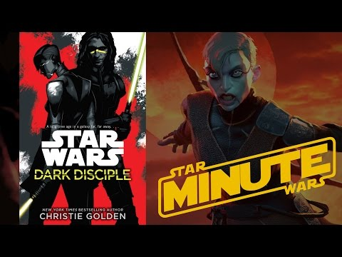 Dark Disciple by Christie Golden NO SPOILERS Review (Canon) - Star Wars Minute