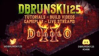 Diablo 2 Hipster Thursday - Threshsocket Farming - Can we drop some GG items?  04/25/2019