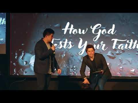 HOW GOD TESTS YOUR FAITH- PS.DENNIS DANIEL - NEW LIFE CHURCH INDONESIA