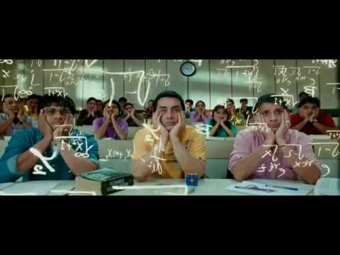 all izz well full song in hd from 3 idiots movie