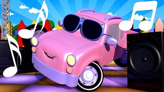 Baby Cars - Join the Baby Cars for a DANCE BATTLE in Car City! Cartoon for kids Fort Construction