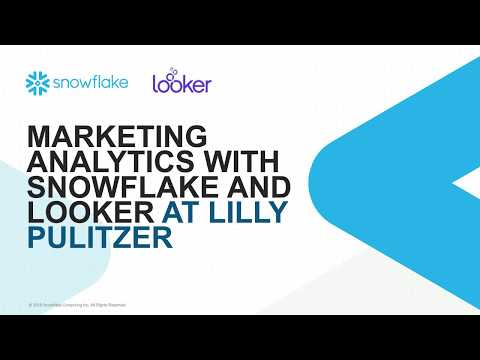 Propelling Lilly Pulitzer's Marketing Analytics with a Cloud Data Warehouse