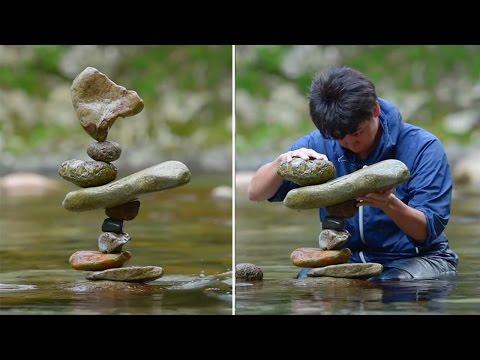 Rock balancing: the ephemeral art