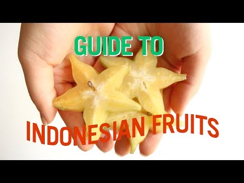 A Guide to Indonesian Fruit