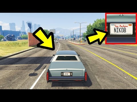GTA 5 - Ive Found Niko Bellics Car Location