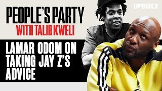 Lamar Odom On Jay Z's Advice And How Jay Warned Him Against Starting A Label | People's Party Clip