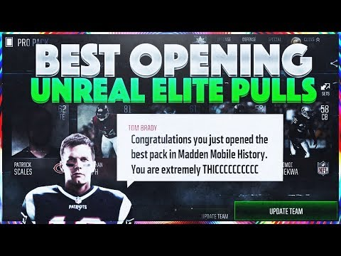 ARE PACKS EVEN WORTH IT?! DOUBLE HEADER BUNDLES - Wild ELITE PULLS! Madden Mobile 18