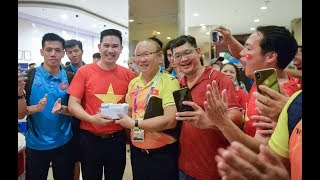 Olympic Việt Nam được thưởng nóng tại khách sạn sau kỳ tích lọt vào bán kết ASIAD   VFF Channel