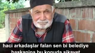 Tavşanlı Belediyesine Köpekler şikayet Etmek Için Arayan Hacı Amca :))