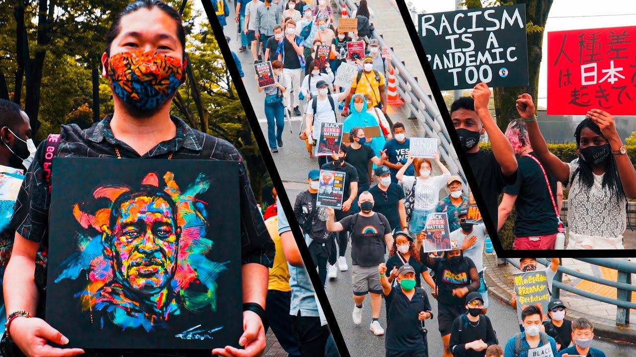 Black Lives Matter TOKYO JAPAN march // BLM Protest - YouTube