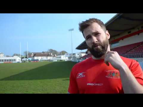 Pre match interview with Sam Daly and Kieran Hallett: Plymouth Albion v Birmingham Moseley