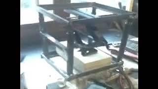 Custom made car ramps build in progress