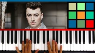"How To Play ""Lay Me Down"" Piano Tutorial (Sam Smith)"