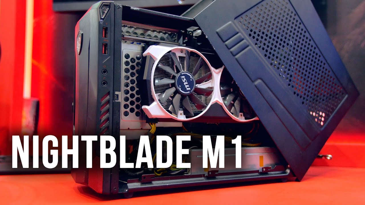 MSI Nightblade M1 - Incredibly Powerful & Compact ITX AIO