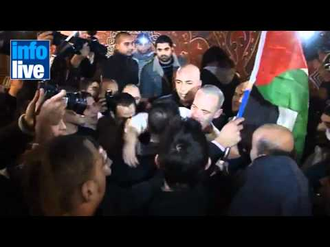 Israël Libère 550 Prisonniers Palestiniens