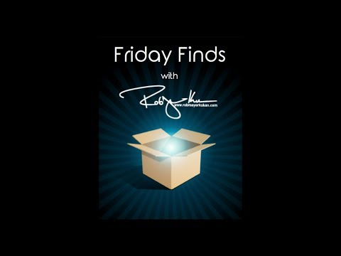 Friday Finds 09 22 2017 with Rob Meyer-Kukan: self-care tips